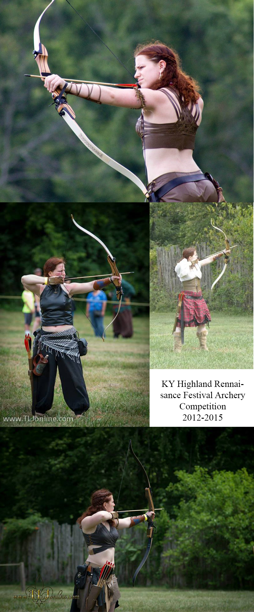 Lydia_archery_collage